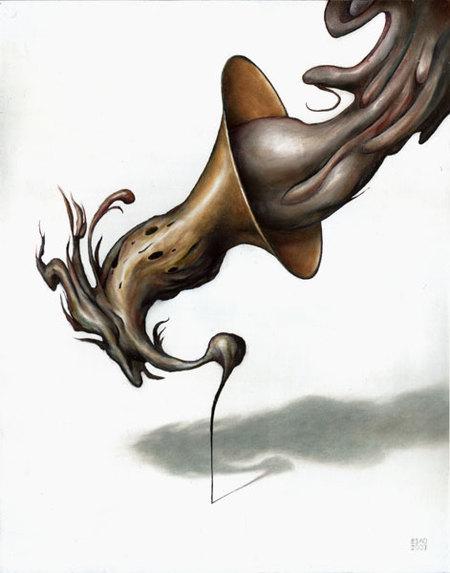 Страшное икрасивое вкартинах Andrew Esao. Изображение № 25.