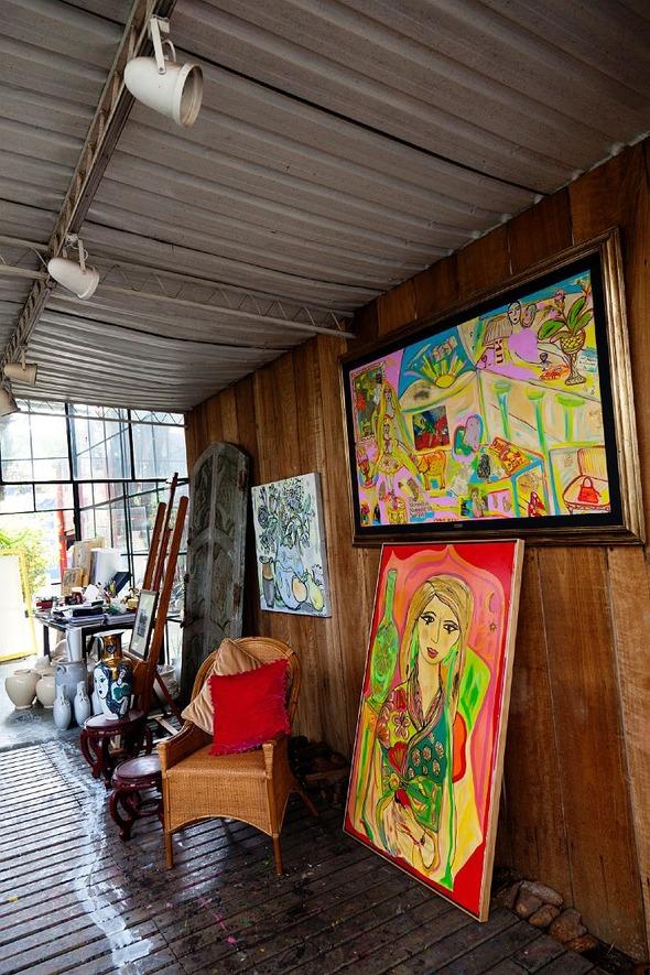 Дом и студия художницы Isabelle Tuchband в Сан Пауло.. Изображение № 7.