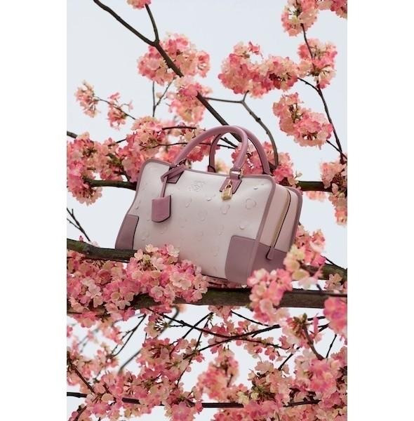 Изображение 1. Лукбук: Loewe Cherry Blossom.. Изображение № 1.