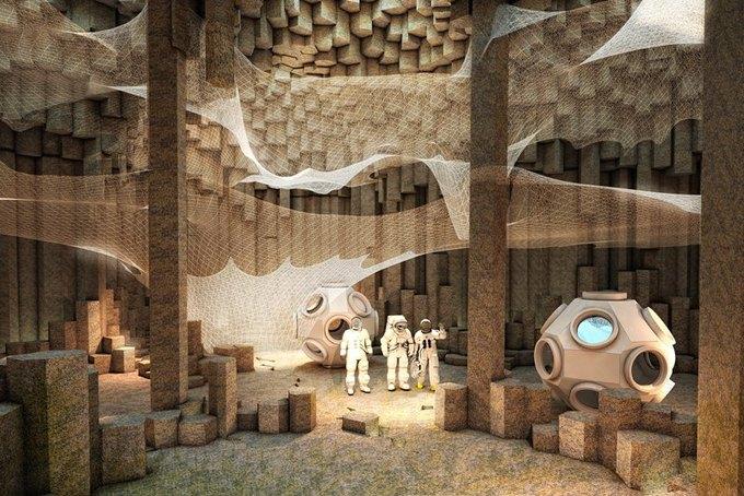 Марсианскую колонию могут построить роботы. Изображение № 1.