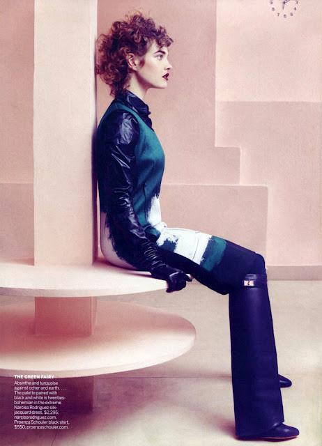 Новые съемки: Vogue, Nylon и другие. Изображение № 10.