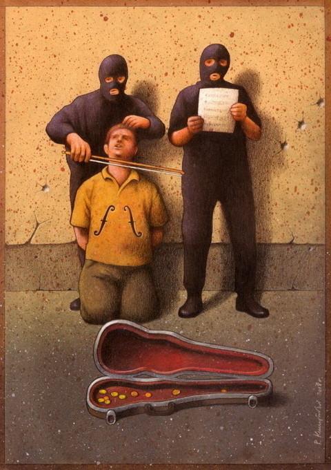 Изображение 25. Карикатурист Pawel Kuczynski.. Изображение № 25.
