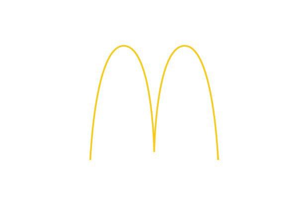 Логотипы популярных брендов перерисовали тонкими линиями. Изображение № 3.