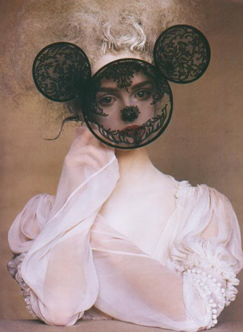 Архивная съёмка: Лиза Кант в объективе Ирвина Пенна, 2005. Изображение № 3.