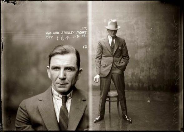 Фотографии американских гангстеров начала 20 века. Изображение № 1.