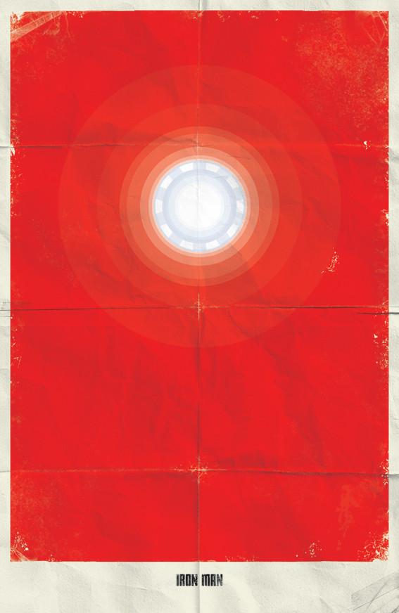 Минималистичные постеры для Marvel Comics. Изображение № 21.
