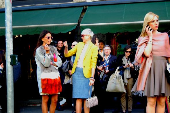 Milan Fashion Week. За кадром. Изображение № 14.