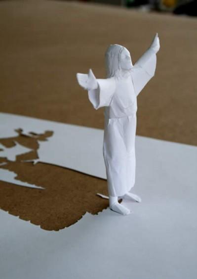 Скульптура-оригами. Изображение № 1.