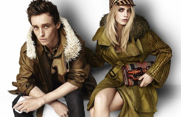 Eddie Redmayne and Cara Delevingne. Изображение № 1.