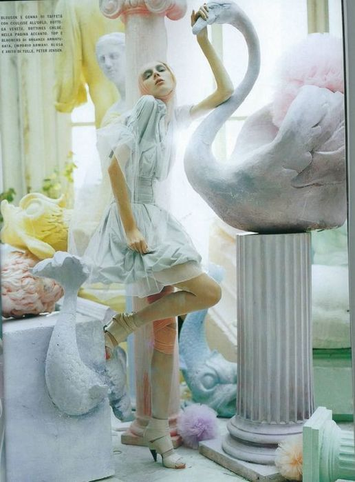 A Magic World (Vogue Italia January 2008 ). Изображение № 14.