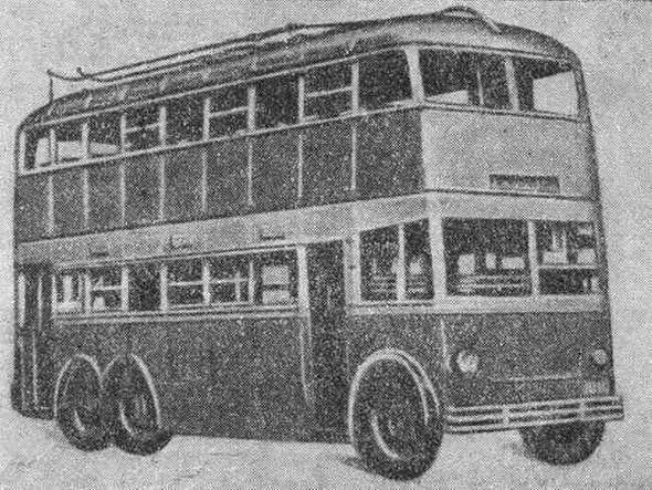 Первые троллейбусы. Изображение № 10.