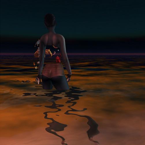 Космический психодел и странные образы одиночества в 3D-исполнении. Изображение № 3.