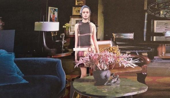 Лукбук: Prada Fantasy FW 2011. Изображение № 10.