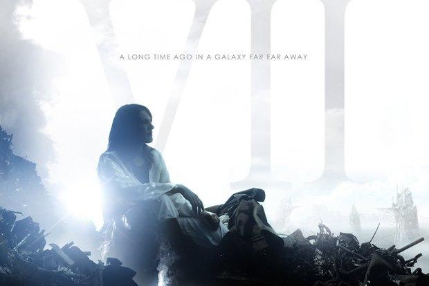 Фрагмент неофициального постера к седьмому эпизоду «Звёздных войн». Изображение № 1.