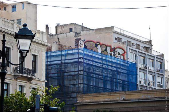 Стрит-арт и граффити Афин, Греция. Изображение № 5.