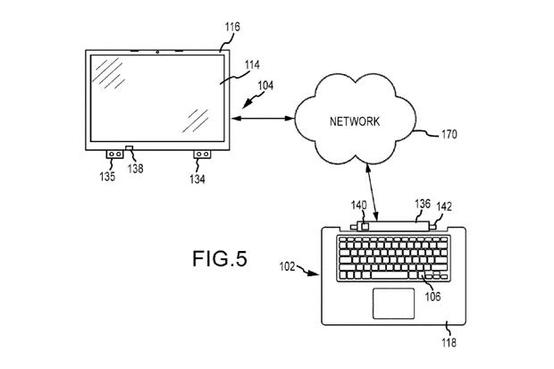 Apple получила патенты нааналог Surface Book иклавиатуру с3DTouch. Изображение № 4.