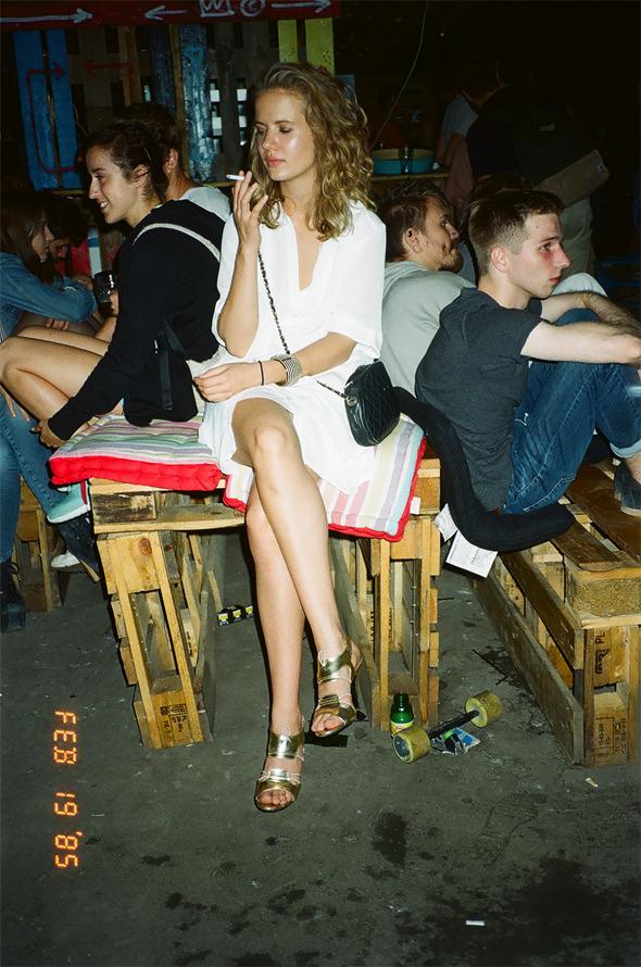 Люди на вечеринке W-O-S Backyard Party. Изображение № 6.