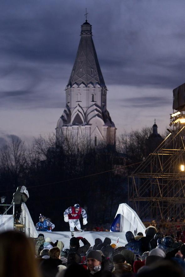 Изображение 7. Финляндия взяла реванш в Москве 26 февраля (Red Bull Crashed Ice 2011).. Изображение № 7.