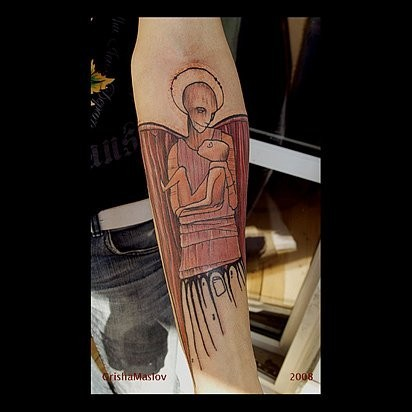 Татуировки в стиле Иннормизма. Изображение № 4.