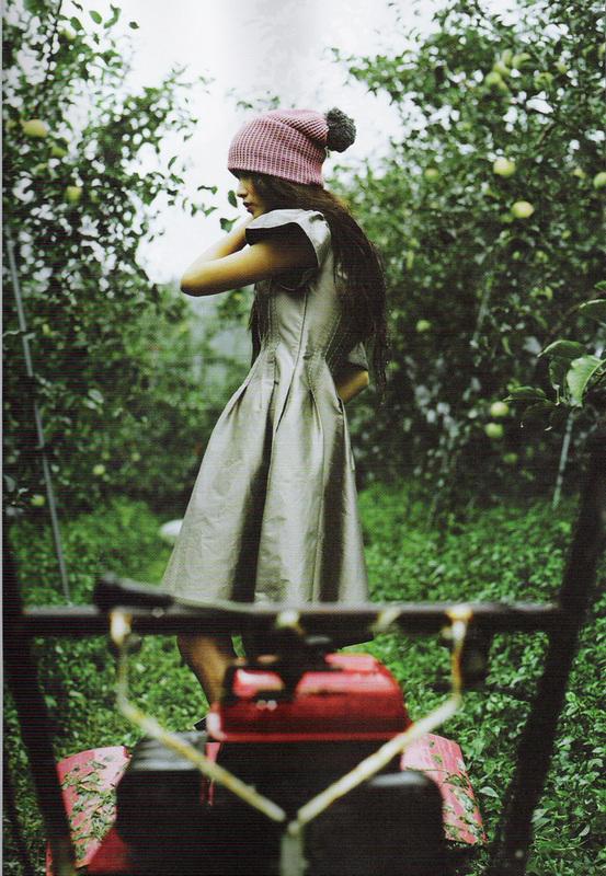 Яблочная ферма (Elle Girl Korea October 2007). Изображение № 4.