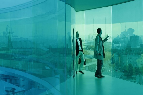 Изображение 4. Архитектурное бюро Olafur Eliasson придумало радужную панораму.. Изображение № 4.