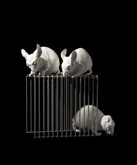 Гриша Брускн, «Мыши в клетке». Изображение № 8.