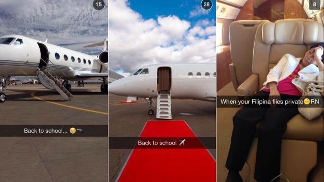 Что выкладывают в Snapchat богатые школьники. Изображение № 5.