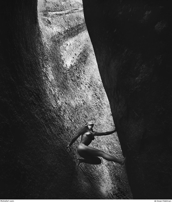 Dean Fidelman. Stone nudes. Изображение № 6.
