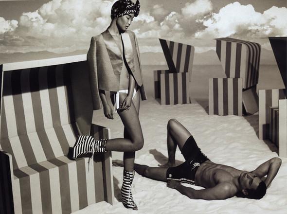 Бибисара Шарипова для Elle magazine. Изображение № 2.