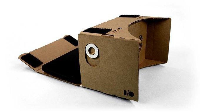 Очки виртуальной реальности Google Cardboard. Изображение № 2.