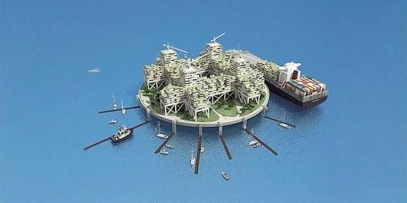 Мечты о другой жизни: Архитектура на грани реальности. Изображение № 44.