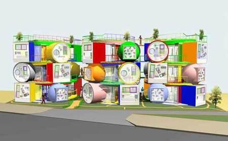 """Инновационный жилой комплекс """"Reversible-Destiny Lofts"""". Изображение № 2."""