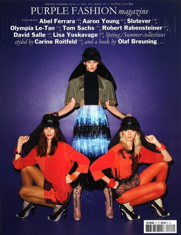Обложки: i-D, Elle, Purple Fashion и другие. Изображение № 5.