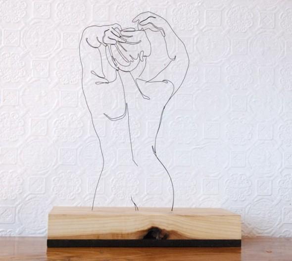 Скульптуры из проволоки Гэвина Ворта. Изображение № 1.