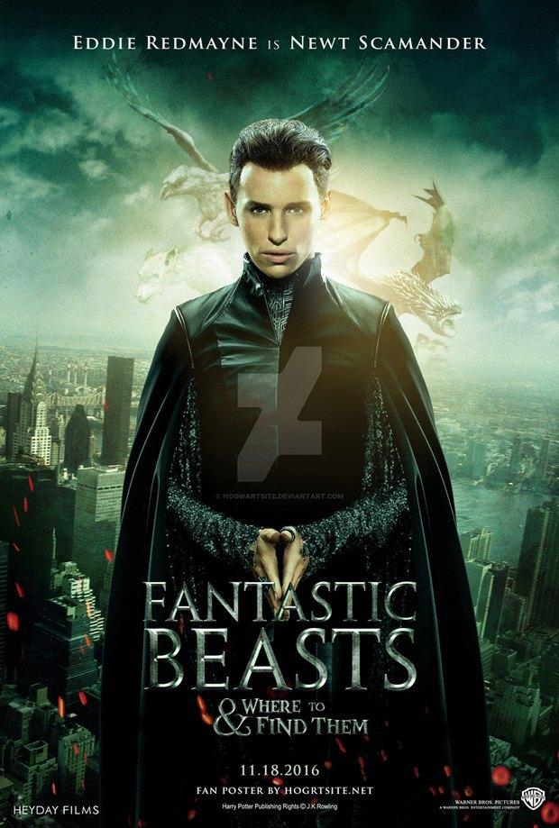 Неофициальный постер для фильма с Редмэйном / Автор: hogwartsite.deviantart.com. Изображение № 1.