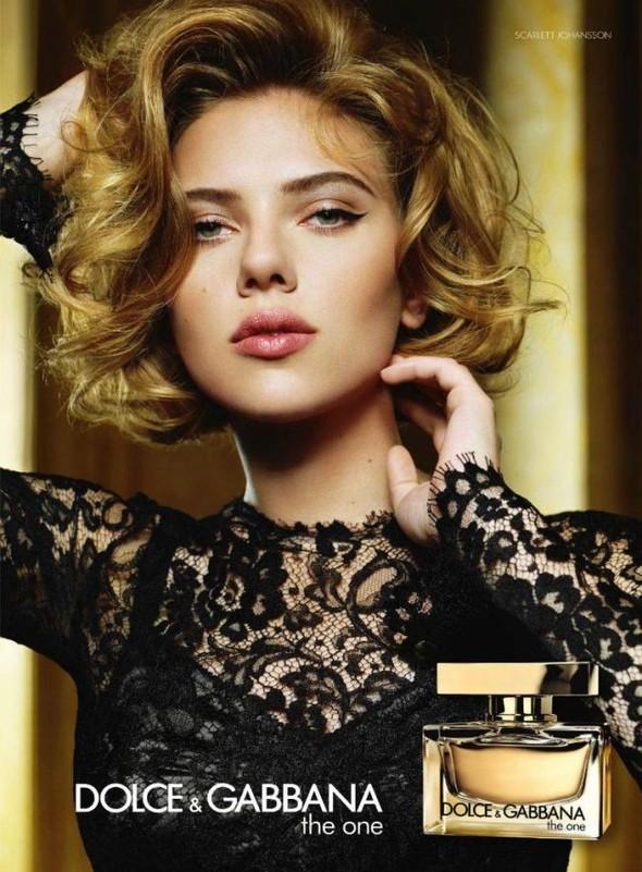 Бьюти-кампания: Скарлетт Йоханссон для Dolce & Gabbana F2011. Изображение № 2.