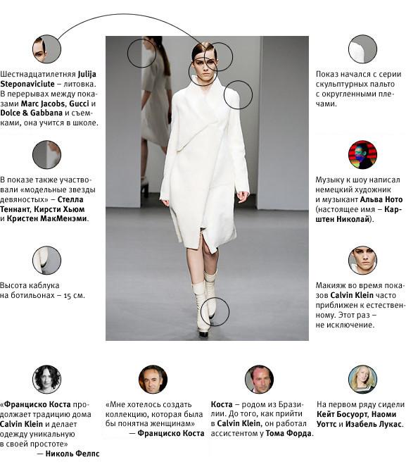 Напоказ: Calvin Klein FW'10. Изображение № 1.