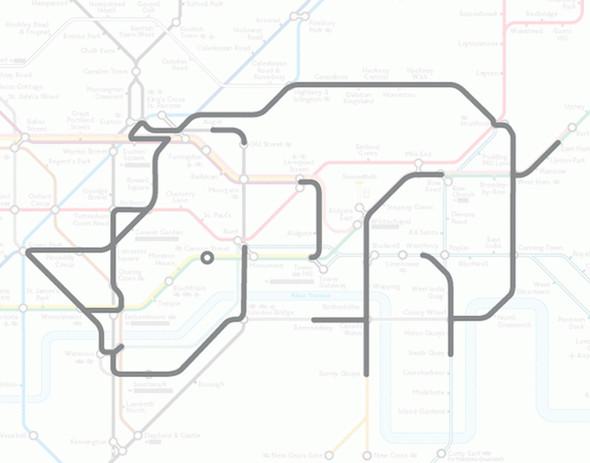 Осторожно! Звери в лондонском метро!. Изображение № 6.
