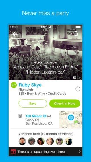Обновилось приложение Foursquare для iOS 7. Изображение № 5.