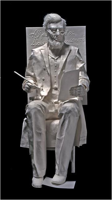 Бумажные скульптуры. Изображение № 42.
