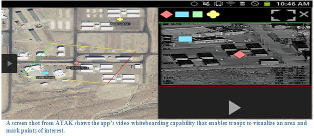 Американские военные смогут запросить авиаудар через смартфон. Изображение № 1.