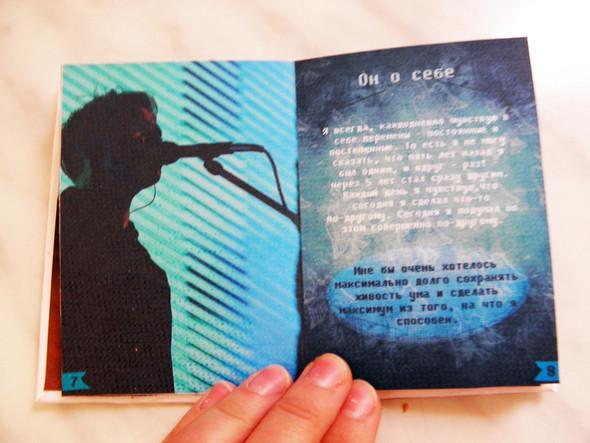 Самодельная книжка о творчестве Дельфина. Изображение № 9.