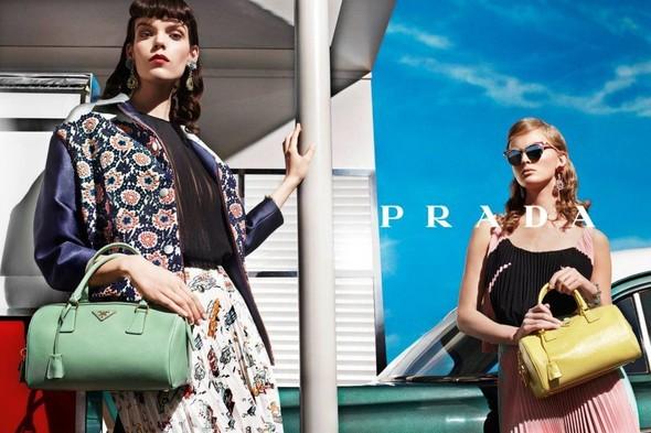 Кампания: Prada SS 2012. Изображение № 2.