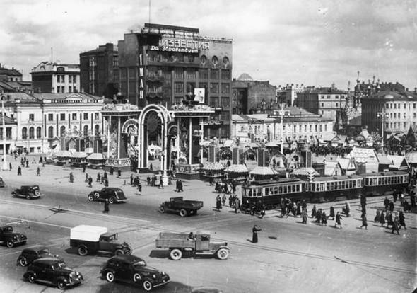 Пушкинская площадь, 1948 г.. Изображение № 82.