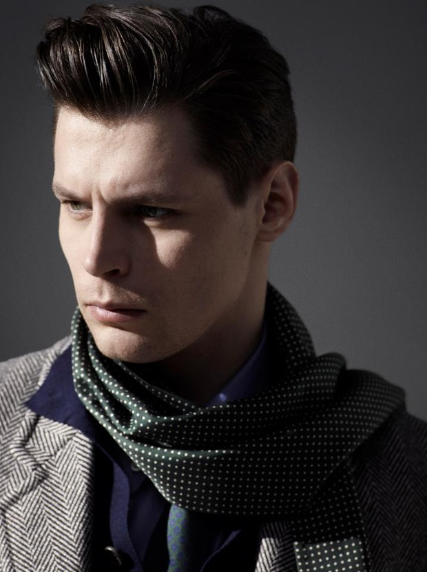 Alfred Dunhill lookbook casual wear Autumn Winter 2012. Изображение № 4.