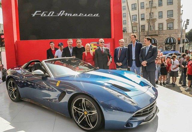 Фото: выставка суперкаров Ferrari в Беверли-Хиллз. Изображение № 12.