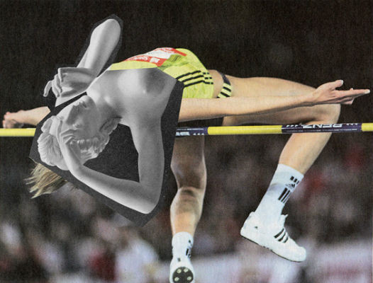 Новая атлетика: Олимпийские виды спорта в коллажах Йена Ульриха. Изображение № 4.