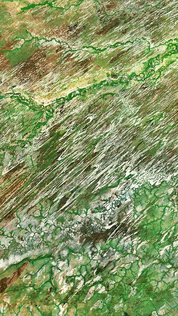 Сайт дня: обои для айфонов из спутниковых карт. Изображение № 1.