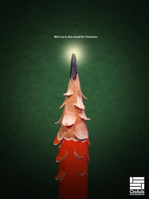 Новогоднее - Рождественский креатив в рекламе. Изображение № 17.