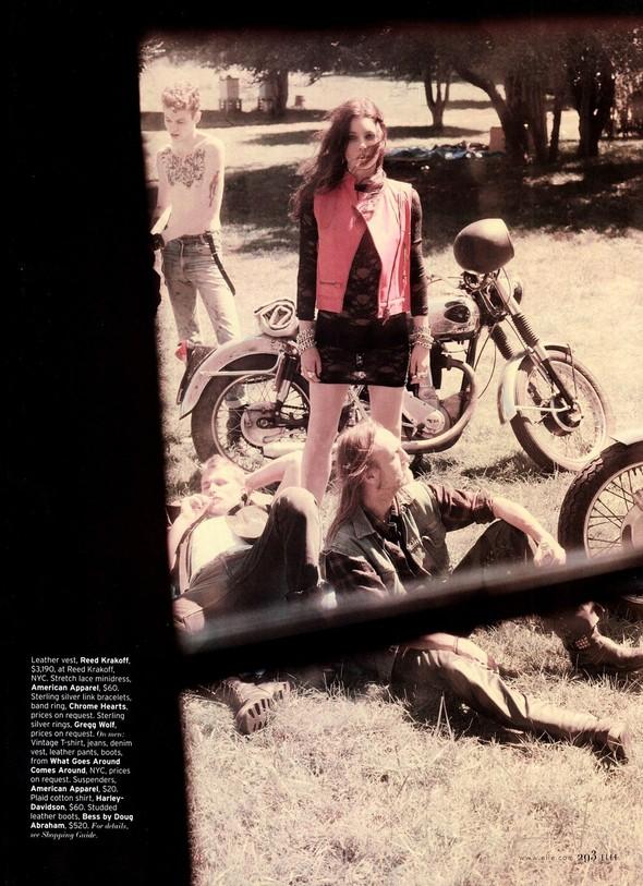 Съёмка: Джессика Бил для Elle. Изображение № 6.